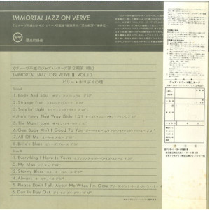 Immortal Jazz Series On Verve II Vol.10