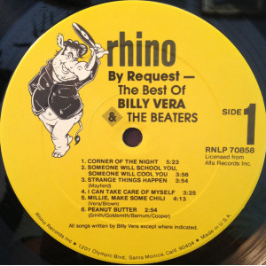 By Request (The Best Of Billy Vera & The Beaters)