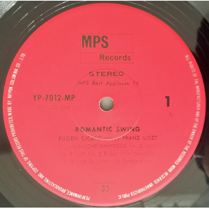Romantic Swing - Eugen Cicero Plays Franz Liszt