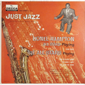 "Gene Norman Presents The ""Just Jazz"""