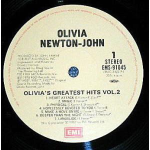 Olivia's Greatest Hits Vol. 2